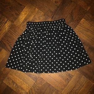 Forever 21 Polka Dot Skirt Size S